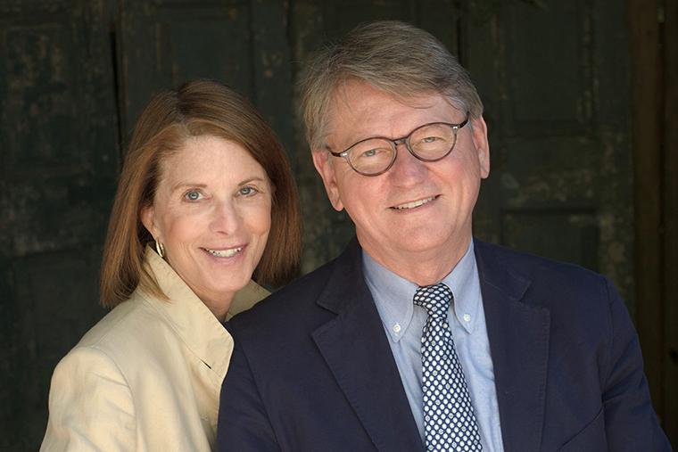 Portrait photo of Stephanie and John Dains