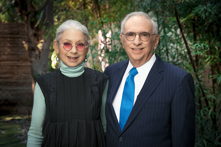 Portrait photo of Ellen and Arnold Zetcher